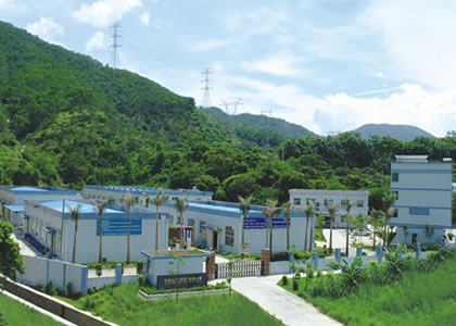 Panorama of the factory of Shenzhen Qianlang
